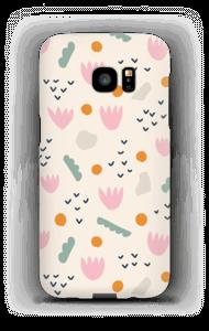 Papirblomst cover Galaxy S7 Edge