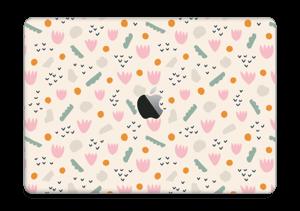"""Flores de Papel Vinilo  MacBook Pro 13"""" 2016-"""