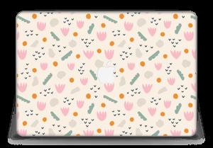 "Paper Flower Skin MacBook Pro Retina 15"" 2015"