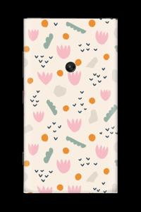Paper Flower Skin Nokia Lumia 920