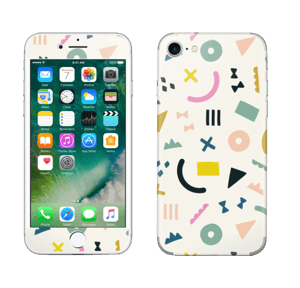 Formes colorées Skin IPhone 7