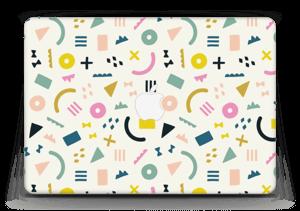 """Formes colorées Skin MacBook Air 13"""""""