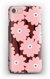 Lyserøde blomster cover IPhone 7
