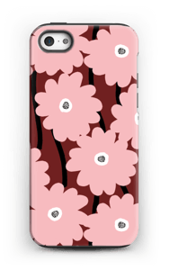 Lyserøde blomster cover IPhone 5/5s tough