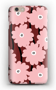 Lyserøde blomster cover IPhone 6