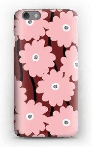 Lyserøde blomster cover IPhone 6s