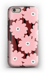 Lyserøde blomster cover IPhone 6s tough