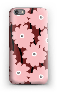 Lyserøde blomster cover IPhone 6s Plus tough