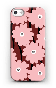 Lyserøde blomster cover IPhone SE