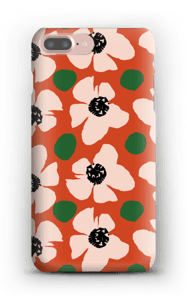 Trendy blomster cover IPhone 7 Plus