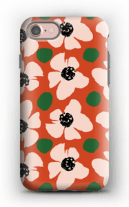 Trendy blomster cover IPhone 7 tough
