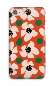 Trendy blomster cover IPhone 8