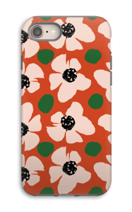 Trendy blomster cover IPhone 8 tough