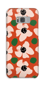 Trendy blomster cover Galaxy S8 Plus