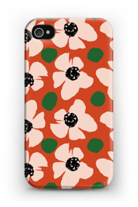 Trendy blomster cover IPhone 4/4s