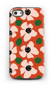 Trendy blomster cover IPhone 5/5s tough
