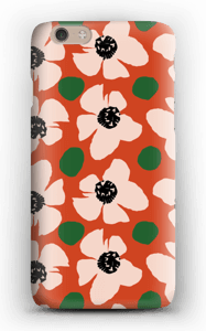 Trendy blomster cover IPhone 6