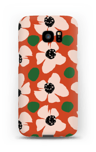 Trendy blomster cover Galaxy S7 Edge