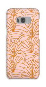 Chic lilje cover Galaxy S8 Plus
