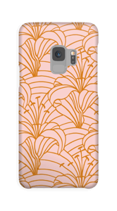 Chic lilje cover Galaxy S9