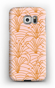 Chic lilje cover Galaxy S6 Edge