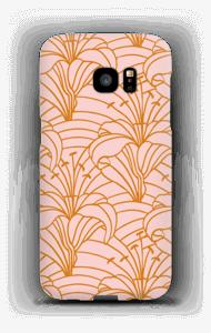 Chic lilje cover Galaxy S7 Edge