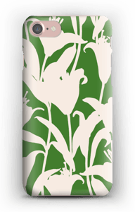 Smukke blomster cover IPhone 7