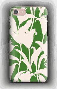 Blommor på grönt skal IPhone 7