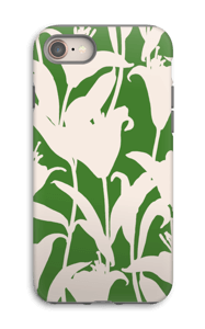 Smukke blomster cover IPhone 8 tough