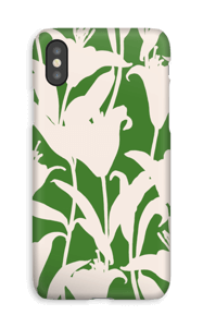 Smukke blomster cover IPhone XS
