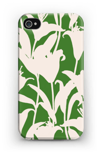 Smukke blomster cover IPhone 4/4s