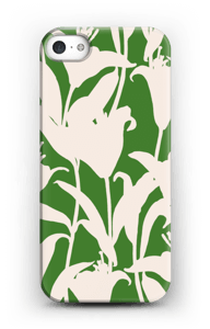 Smukke blomster cover IPhone 5/5S