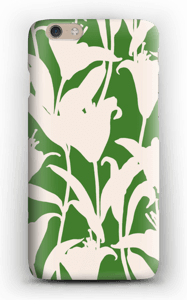 Smukke blomster cover IPhone 6