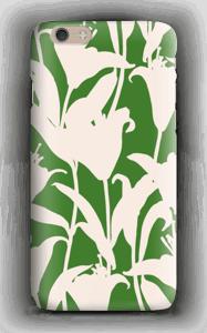 Blommor på grönt skal IPhone 6