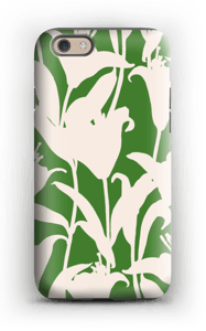 Smukke blomster cover IPhone 6 tough