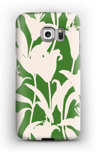 Smukke blomster cover Galaxy S6 Edge