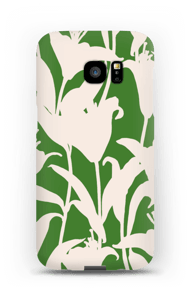 Smukke blomster cover Galaxy S7 Edge