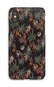 Jungle Monkeys case IPhone X