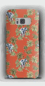 Elefant på vift skal Galaxy S8