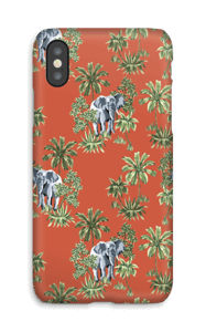 Hiding Elephant case IPhone X