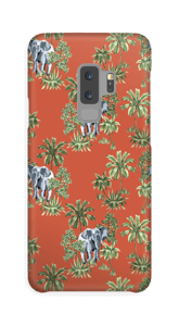 Elefanten Ausflug Handyhülle Galaxy S9 Plus