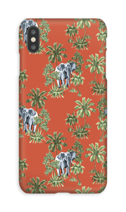 Elefant på vift skal IPhone XS Max