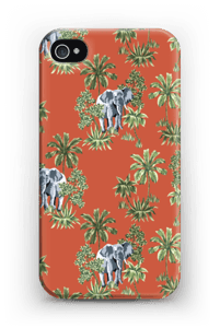 Norsut kuoret IPhone 4/4s
