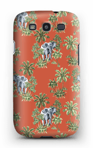 Elefant på vift skal Galaxy S3