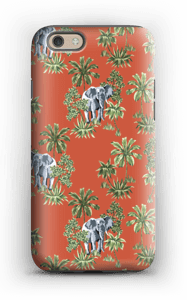 Hiding Elephant case IPhone 6 tough