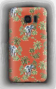 Elefant på vift skal Galaxy S6