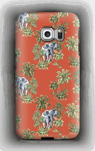 Elefant på vift skal Galaxy S6 Edge