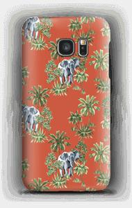 Elefant på vift skal Galaxy S7
