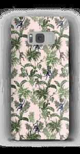 Apinoita ja lehtiä kuoret Galaxy S8