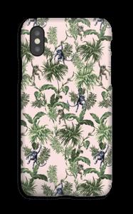 Aber og blad cover IPhone XS